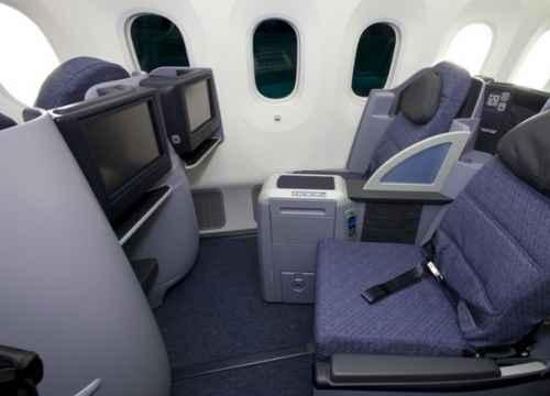 Các hạng ghế chính của hãng hàng không United Airlines