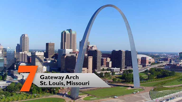 Cổng Vòng cung Gateway Arch