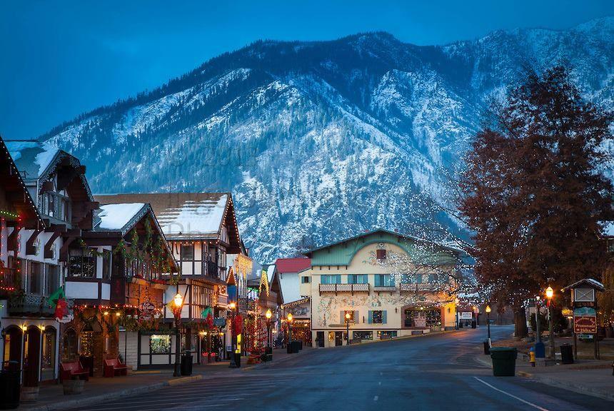 Cận cảnh Leavenworth, Washington