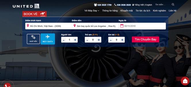 Đặt vé máy bay đi Mỹ online 2