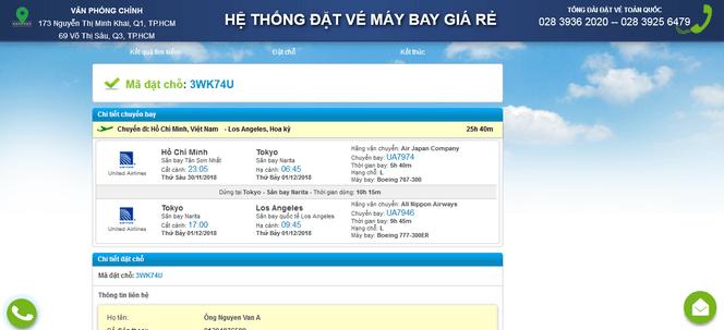 Đặt vé máy bay đi Mỹ online 6
