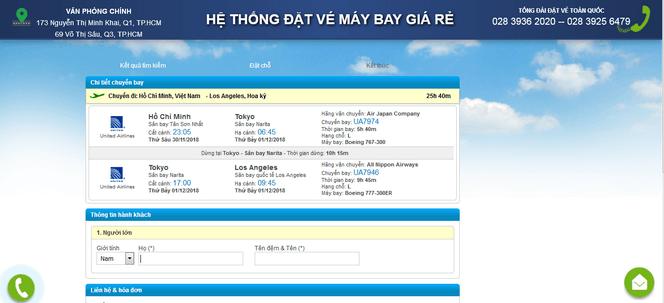 Đặt vé máy bay đi Mỹ online 4