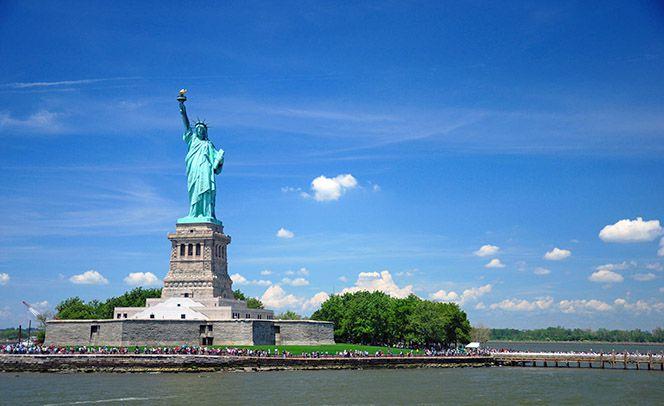 Tượng nữ thần tự do New York