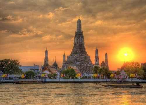 Vé máy bay đi Bangkok (Thái Lan) giá rẻ