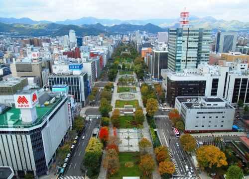 Vé máy bay đi Sapporo (Nhật Bản) giá rẻ