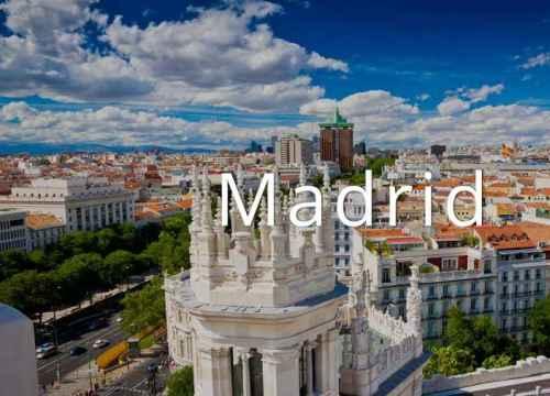 Vé máy bay đi Madrid giá rẻ